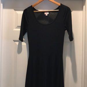 LuLaRoe Ana dress solid black